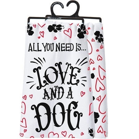 Love and A Dog Towel