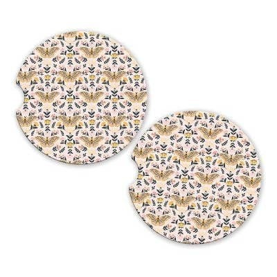 Vintage Butterfly Car Coaster