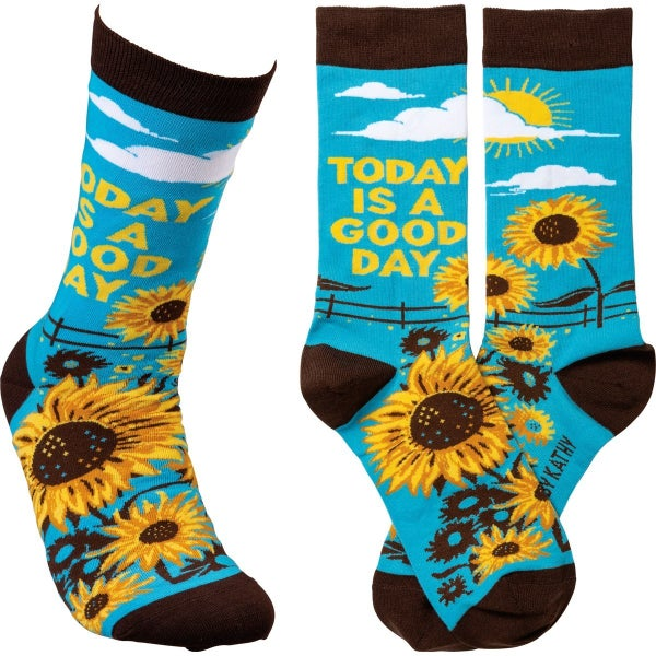 Today is a Good Day Socks
