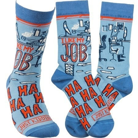Love my Job Socks