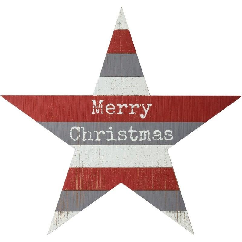 Star Christmas Wreath Insert