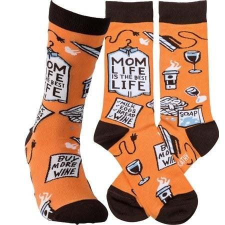 Mom Life Socks