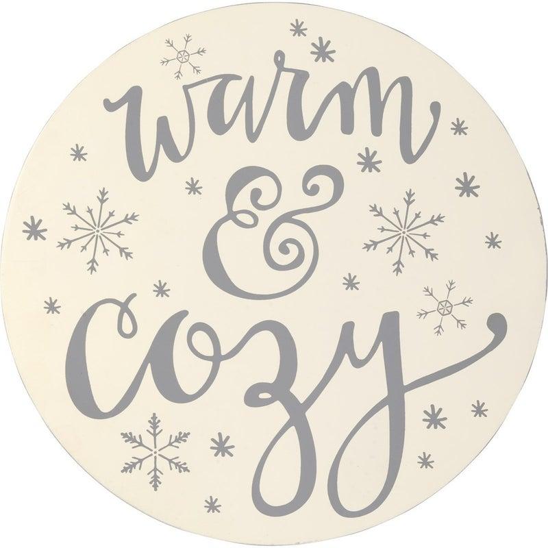 Warm & Cozy Wreath Insert