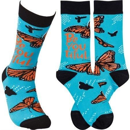 BeYouTiful Butterfly Socks