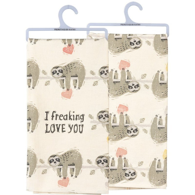 Sloth Towel