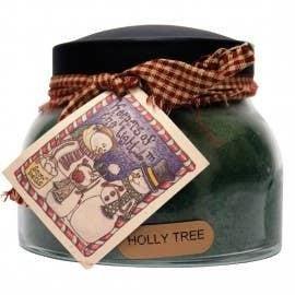 22oz Holly Tree Mama Jar