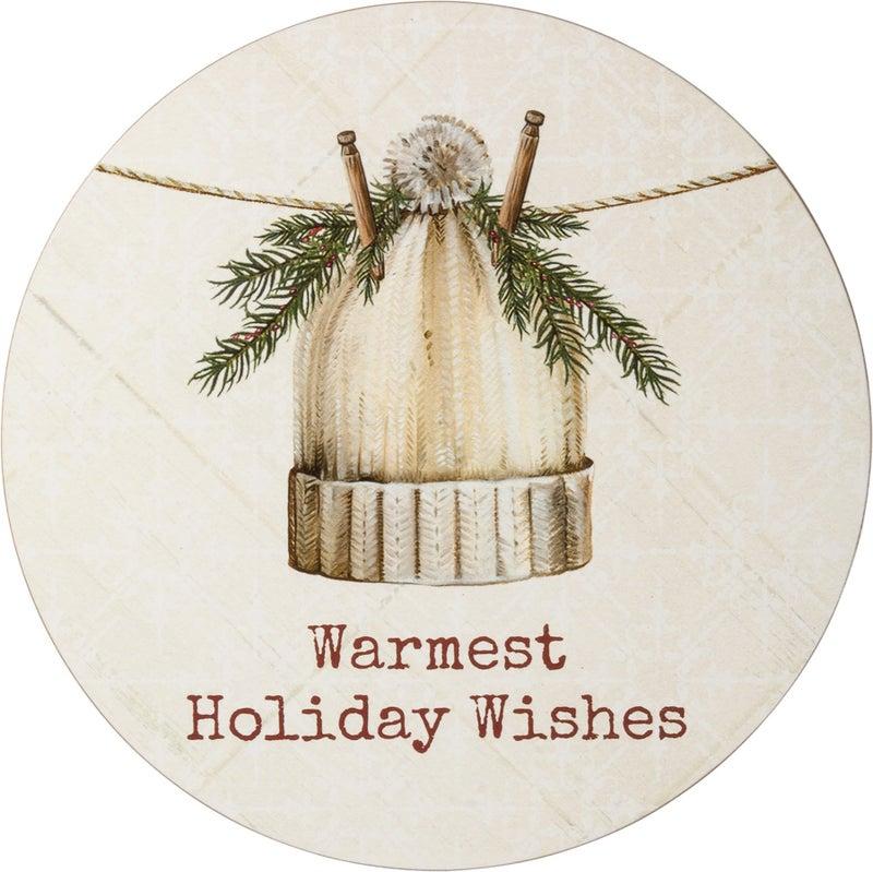 Warmest Wishes Wreath Insert