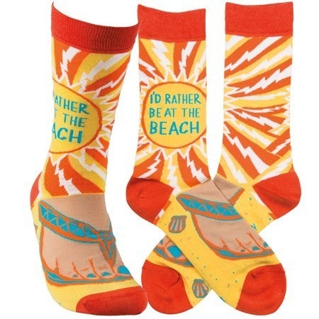 Be at the Beach Socks
