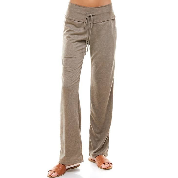 Oatmeal French Terry Pants