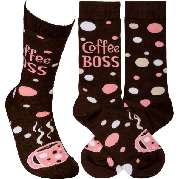Coffee Boss Socks
