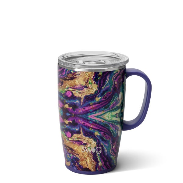Purple Rain Travel Mug 180z