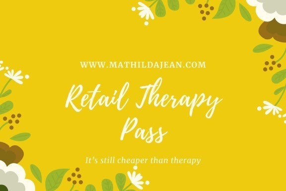 Retail Therapy Gift Card
