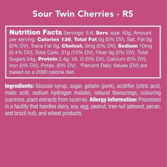 Sour Twin Cherries
