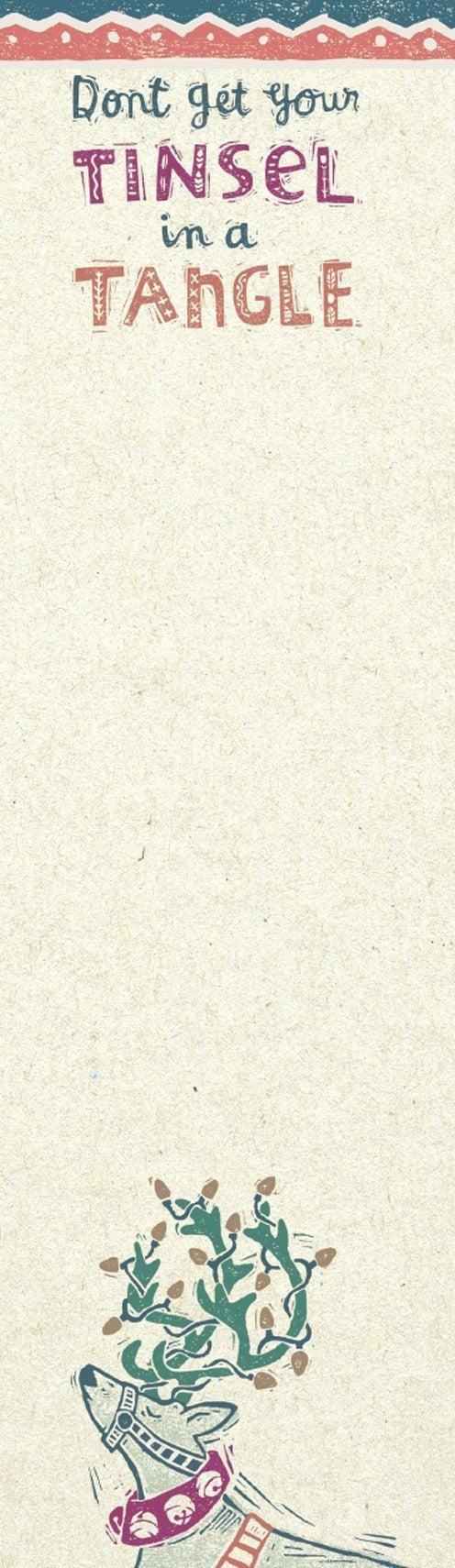 Tinsel Note Pad