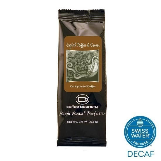 English Toffee and Cream Decaf