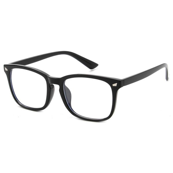 Blue Blocker Glasses - Black Rim