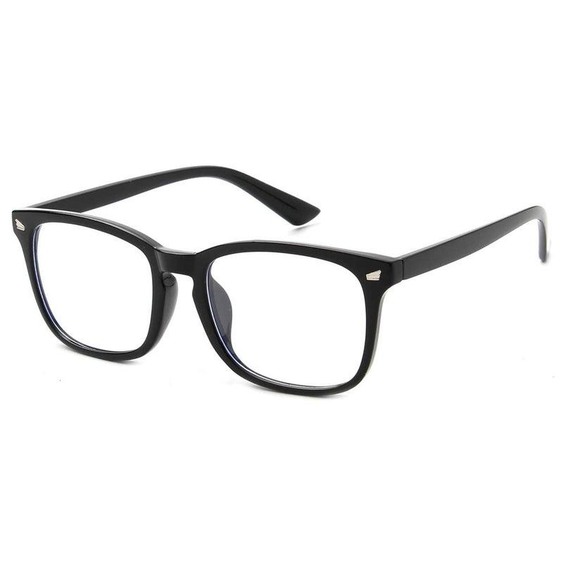 Blue Blocker Glasses - Black Rim