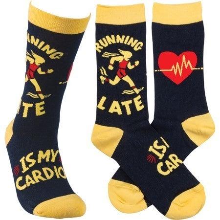 Running Late Socks