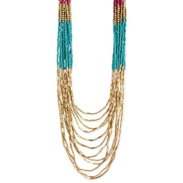 Bead Drape Necklace