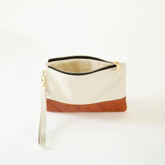 Wristlet - Cream