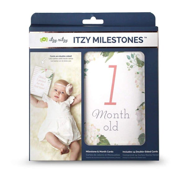 Floral Itzy Moments™ Double-Sided Milestone Cards