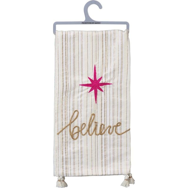 Believe Dish Towel