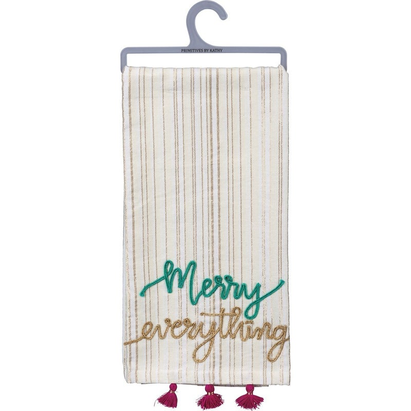 Merry Everything Dish Towel