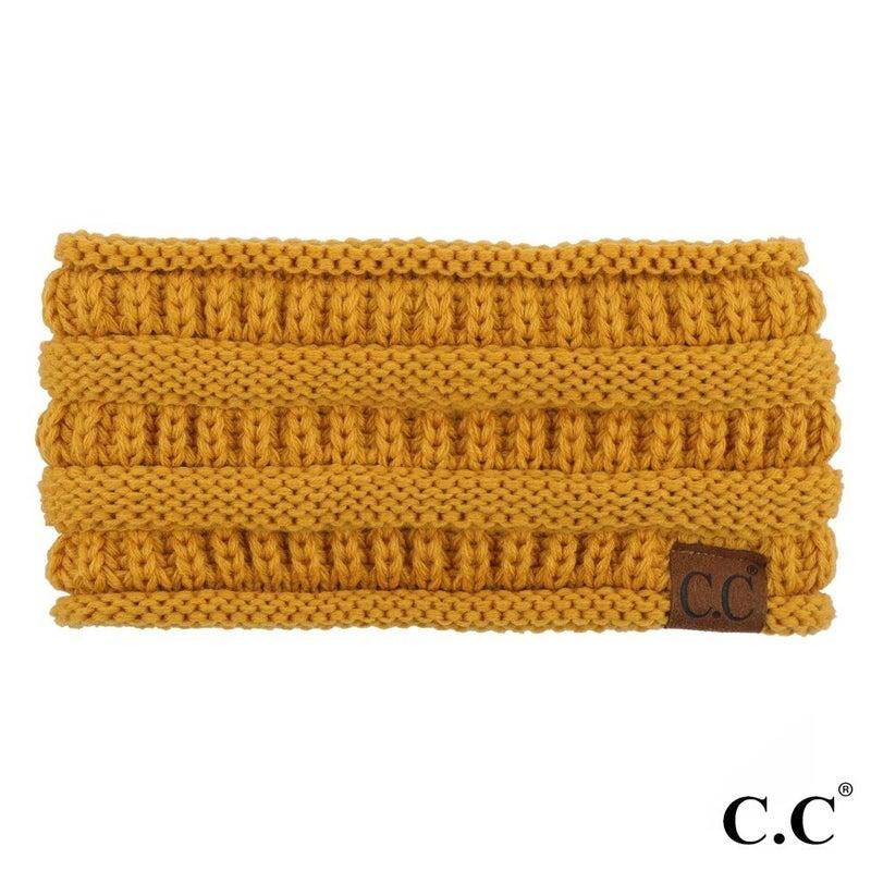 Mustard Ponytail Headband