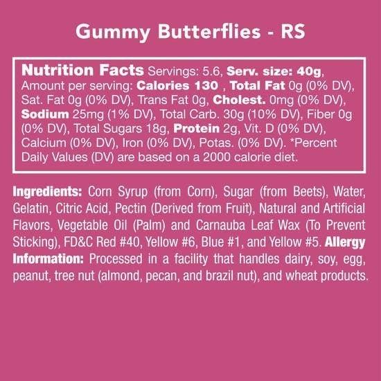 Gummy Butterflies
