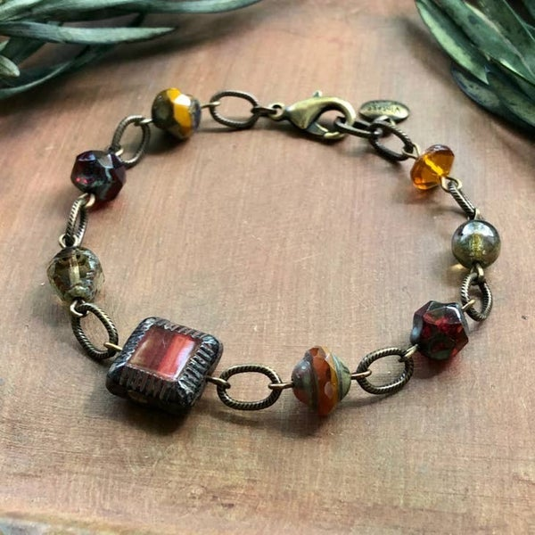 Czaech Glass Bracelet