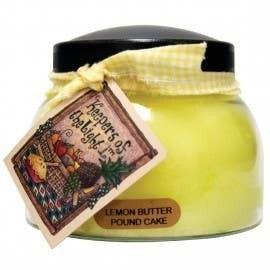 22oz Lemon Butter Pound Cake Mama Jar