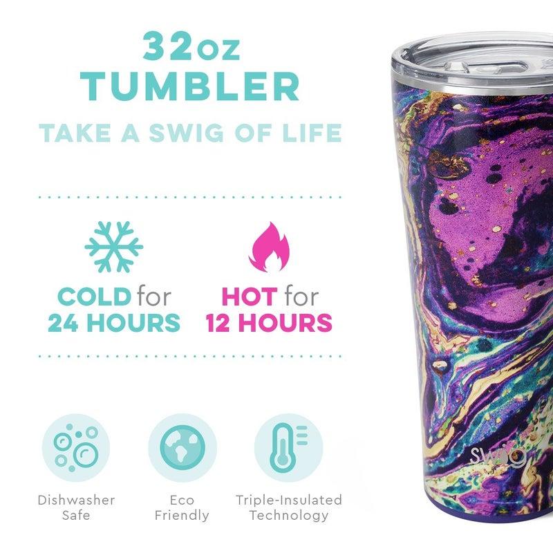 Purple Rain Tumbler 32oz