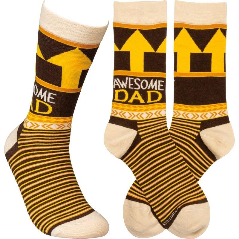 Awesome Dad Socks