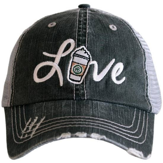 Love Starbucks Coffee Trucker Hat