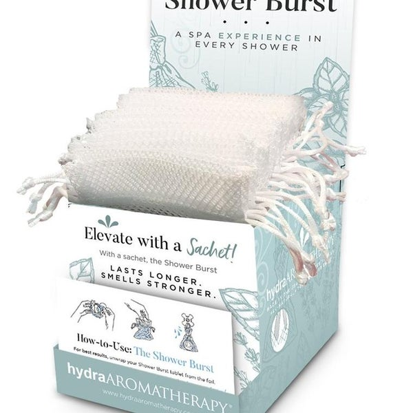 White Shower Burst Sachet