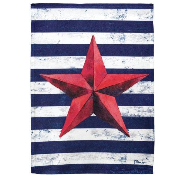 13x18 Barn Star Flag