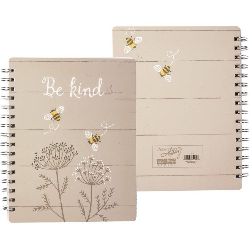Bee Spiral Notebook