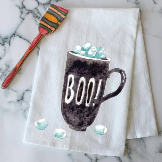 Boo Kitchen Towel