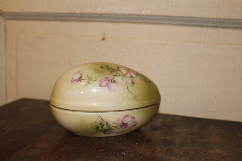 Hand Painted Nippon China Egg