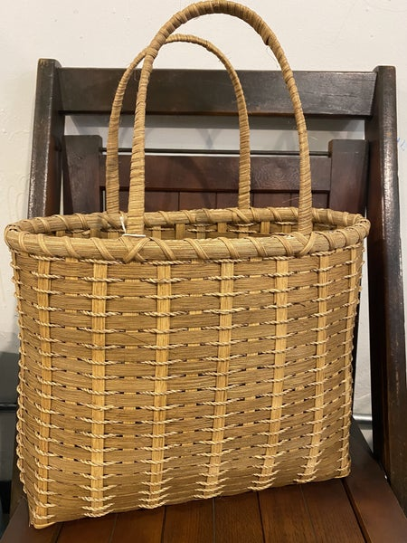 Handcrafted Basket Tote