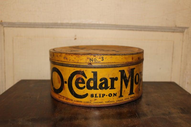 o-Cedar Mop Polish Tin