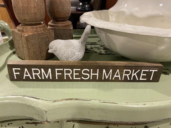 Mini Farm Fresh Market Sign
