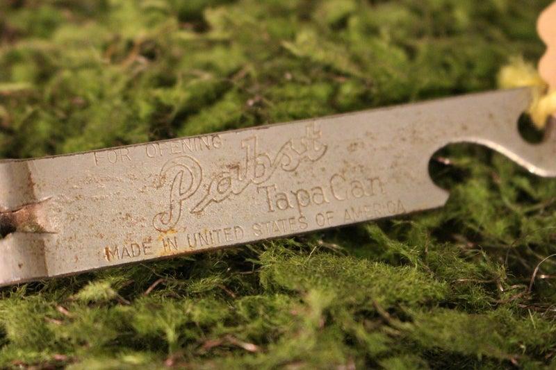 Vintage Pabst Beer Can/Bottle Opener