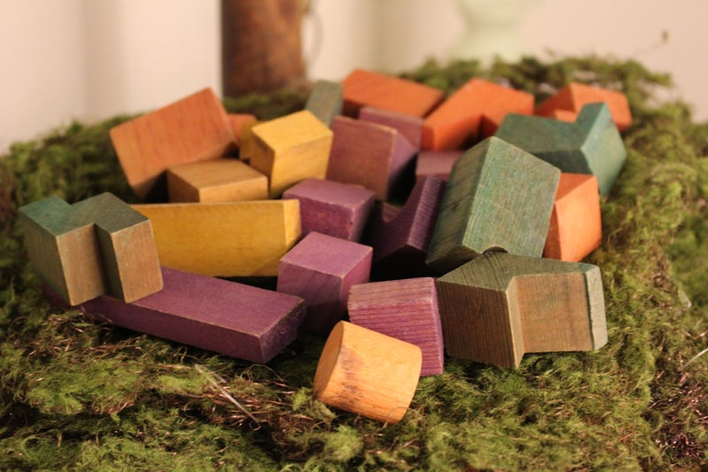 Vintage Child's Building Blocks