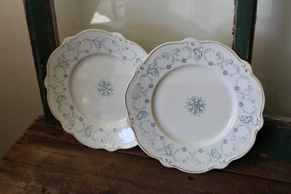 Semi- Porcelaine England Plate