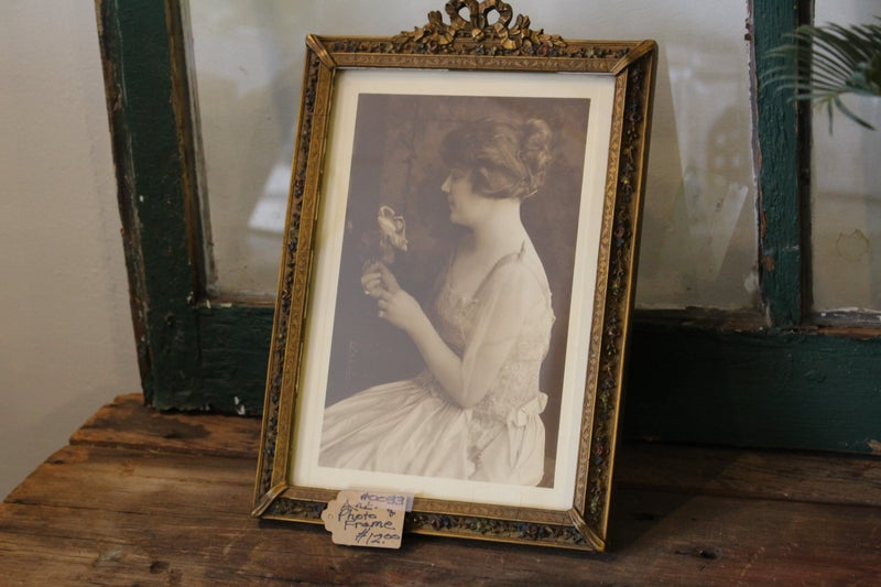 Antique Photograph and Frame