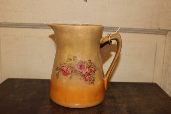 Milk Pitcher with Roses