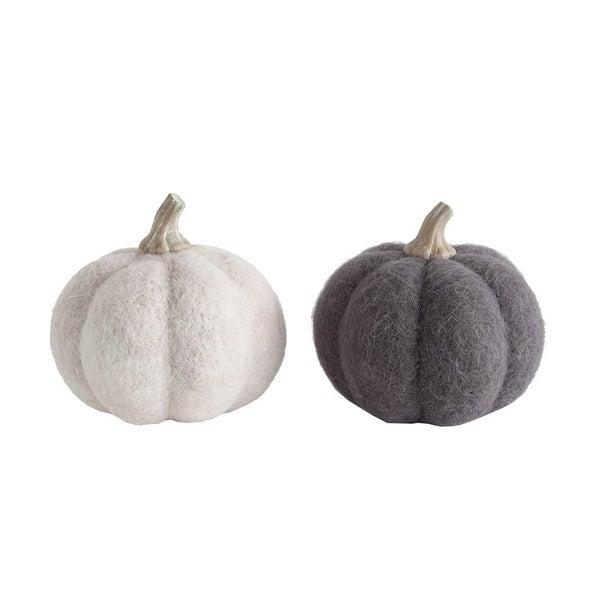 Wool Felt Pumpkin