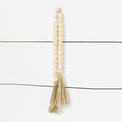 Washed Bead with Tassels