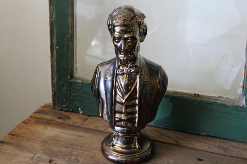 Ceramic Lincoln Bust